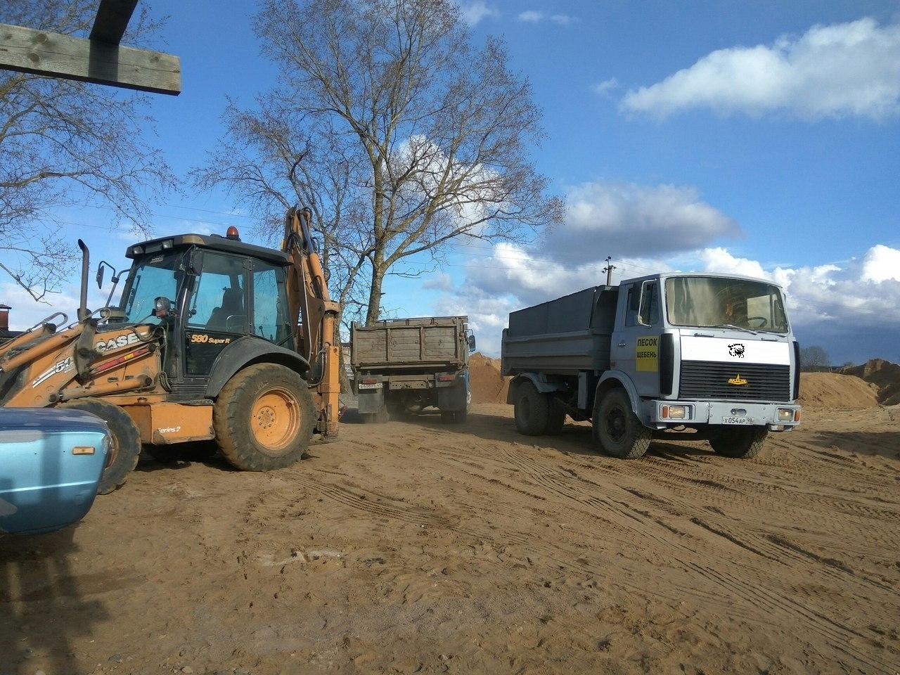 Купить Песок, щебень, дрова с доставкой в Марьино